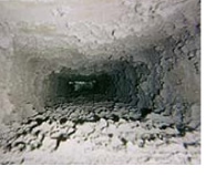 Built up Dust in Air Ducts
